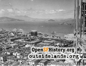 View from Coit Tower,Jun 1933