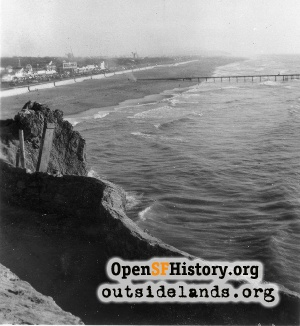 View from Cliff House,Nov 1947