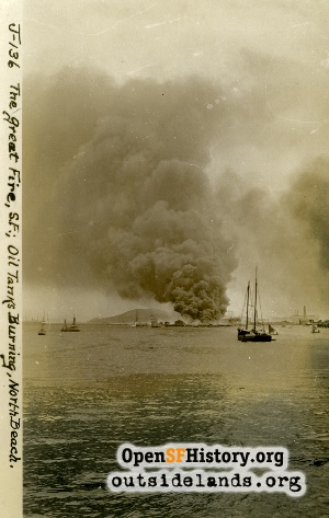 View From SF Bay,1906