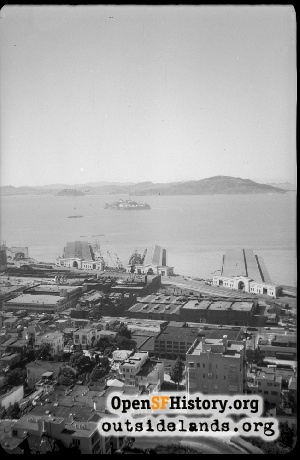 View from Telegraph Hill,1940s