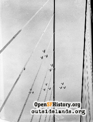Opening of GG Bridge,1937