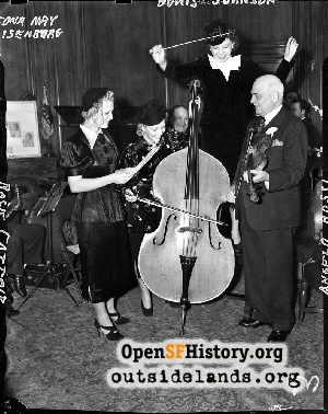 Music at Mayor's Office at City...,1938