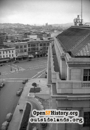 View of Market & Fulton,1930s