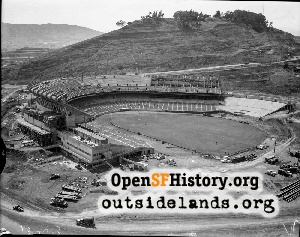 Candlestick Park Aerial,1959