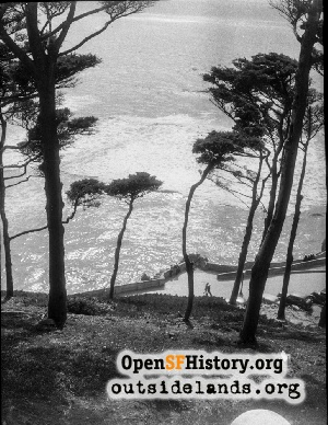 View from Sutro Heights,1945