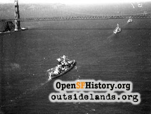 Golden Gate Bridge Opening