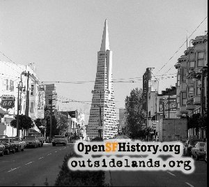 Transamerica Pyramid,Oct 1974