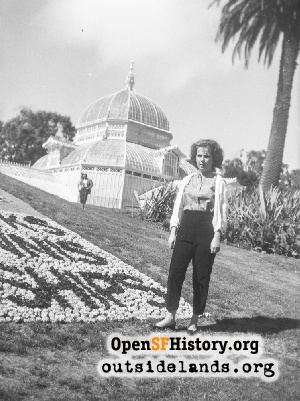 Conservatory of Flowers,1950