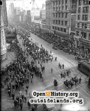 Unemployment Parade,Jan 1931