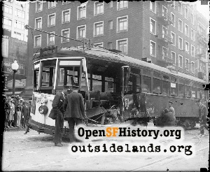 The 10 Streetcar Accident,1930