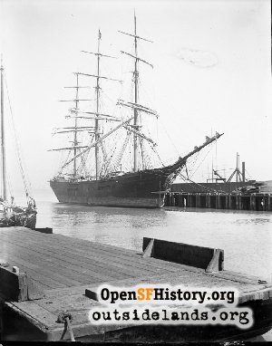 Centennial, clipper ship,1900s