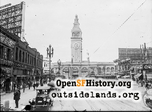 Ferry Building,Jun 1922