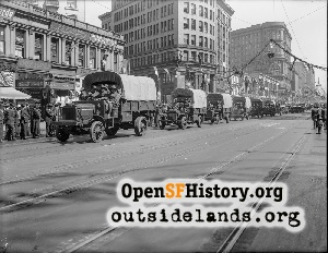 Welcome Home Parade,1919
