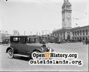Embarcadero near Market,1923