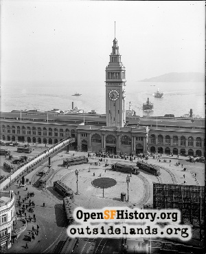 Ferry Building Loop,1926