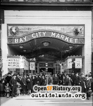 Bay City Market,1925