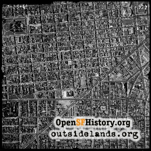 Lower Haight Aerial,1948