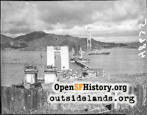 Golden Gate Bridge,Feb 1935