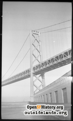 Completed Bay Bridge,1937