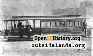 Valencia St Cable Car,1890