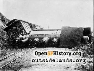 Lands End Train Wreck,1899