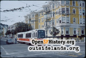 Duboce & Church,Mar 1984