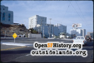 Market & Dolores looking NE,1982