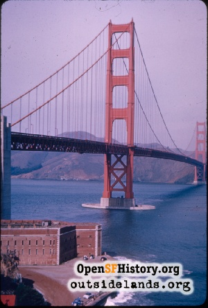 Golden Gate Bridge,1957