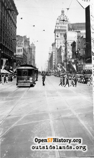 Market near 4th,1925