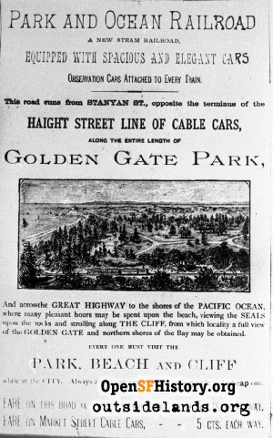 Park & Ocean Railroad,1883