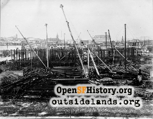 City Hall construction,1913