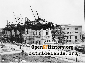 Civic Center construction,1914