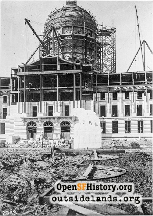 City Hall construction,1914