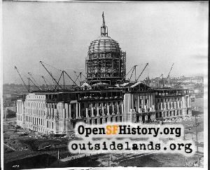 City Hall construction,1915