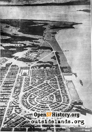 Marina District Drawing,1916