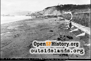 Ocean Beach near Fulton,1926