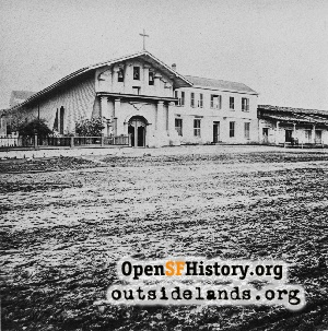 Mission Dolores,1865