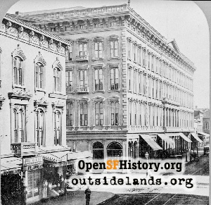 Occidental Hotel,1865