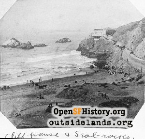 First Cliff House,1885