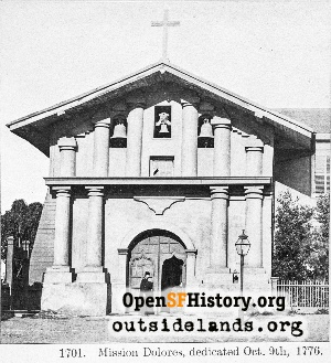 Mission Dolores,1870