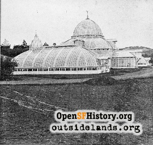 Conservatory of Flowers,1879