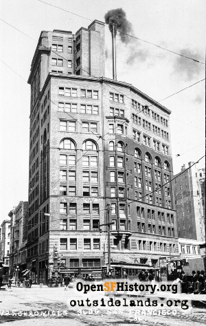 Chronicle Building,1907