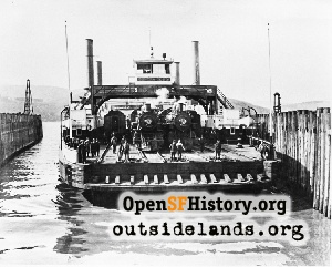 Contra Costa Train Ferry,1915