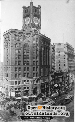 Chronicle Building,1900