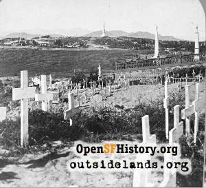 Lone Mountain Cemeteries,1865