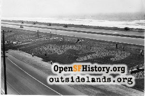 Ulloa & Great Highway,1930