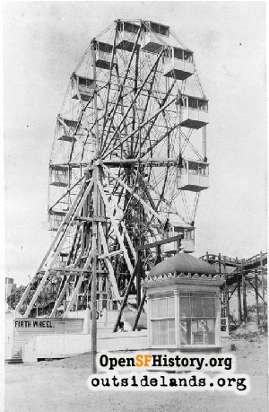 Firth Wheel on Merrie Way,1898