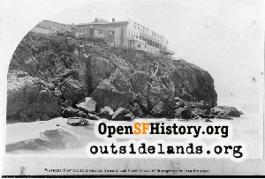 First Cliff House ,1870