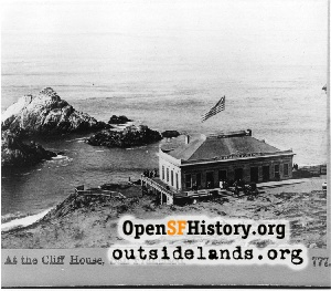 First Cliff house,1865