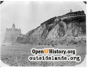 Second Cliff House and Sutro Heights,1900c